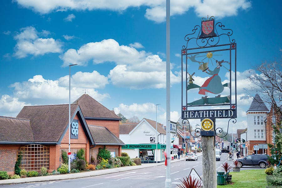 Thinking of moving? Your guide to Heathfield and surrounding areas