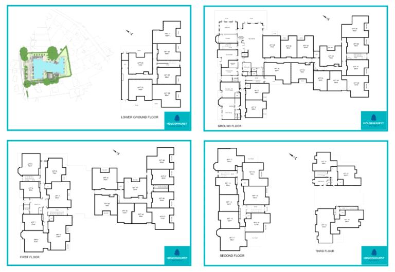 Download Whole Floor Floorplans (PDF)